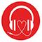 music for dialogue Logo